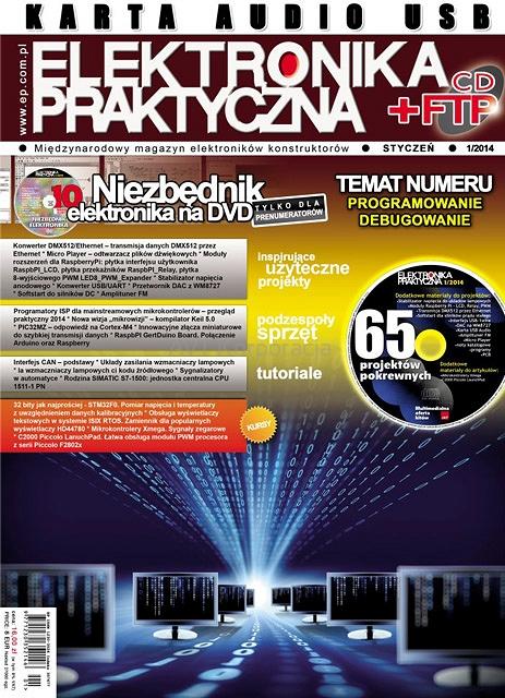 Elektronika praktyczna 01/2014 + Płyta CD