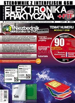 Elektronika praktyczna 02/2014 + Płyta CD